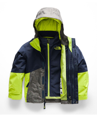 TODDLER BOYS TRICLIMATE JACKET A7L-COSMIC BLUE