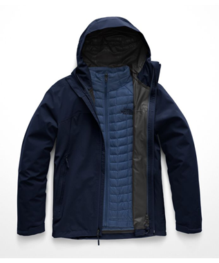 MENS THERMOBALL TRICLIMATE JACKET U6R URBAN NAVY