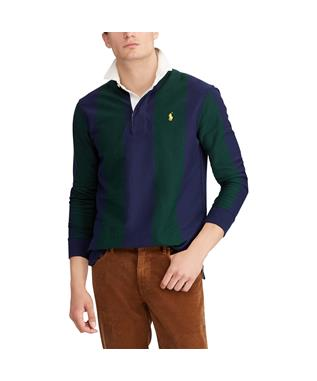 LONG SLEEVES RUGBY SHIRT NAVY GRN