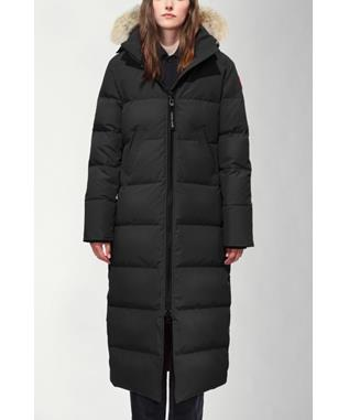 WOMENS  MYSTIQUE PARKA BLACK-61