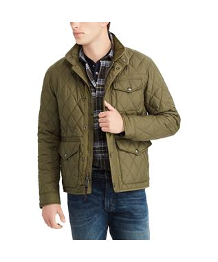 DARTMOUTH QUILT JACKET GREEN
