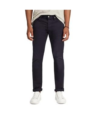 VARICK SLIM STRAIGHT JEAN NAVY