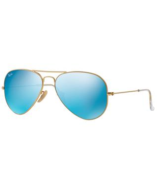 AVIATOR - GOLD/BLUE MIRROR POLAR