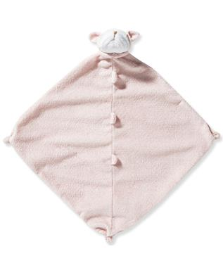 ANIMAL BLANKIE-PINK BULLDOG PINK