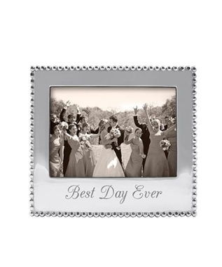 BEST DAY EVER BEADED 5 X 7 FRAME