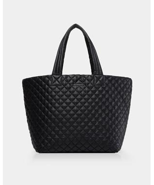 LARGE METRO TOTE BLACK OXFORD