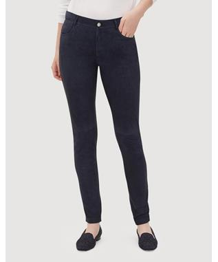 LUSH SUEDE FRONT MERCER PANT INK-479
