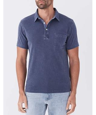 SUNWASHED POLO NAVY