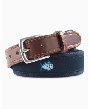 BOYS SKIPJACK RIBBON BELT TRUE NAVY