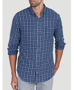 PACIFIC SHIRT INDIGO BLUE PLAID