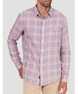 ORGANIC COTTON SEAVIEW SHIRT Seafoam Plaid