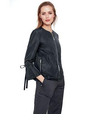 Empirical Tech Cloth Johnsie Jacket BLACK IRIDESCENT-083