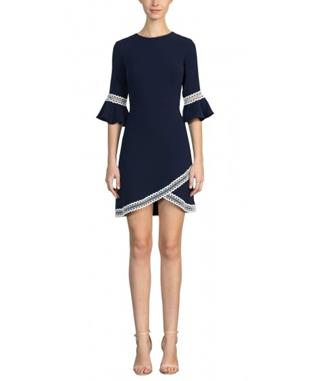 VAL DRESS NAVY
