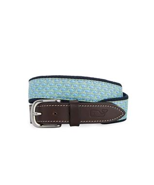 BOYS VINEYARD WHALE CLUB BELT NAVY
