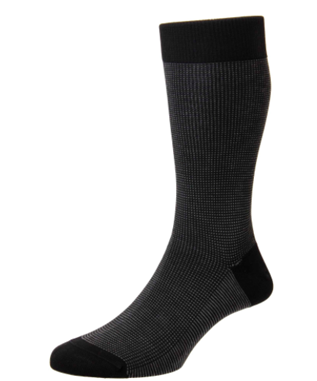 BIRDSEYE LONG ANKLET SOCK