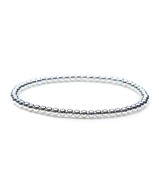 3MM STRETCH BALL BRACELET