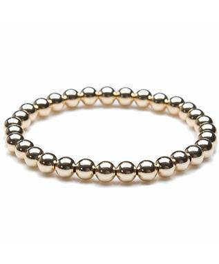6MM STRETCH BALL BRACELET