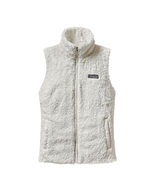 WOMENS LOS GATOS FLEECE VEST BIRCH WHITE