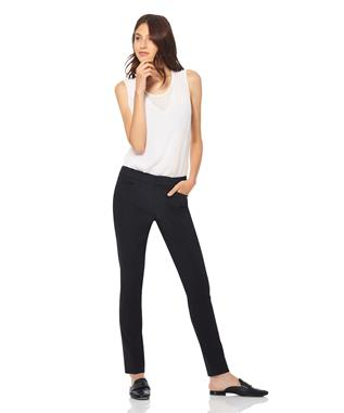 MADISON-SLIM LEG TROUSER  BLACK