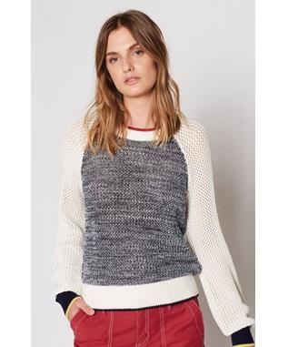 GOLANI SWEATER PORCELAIN MULTI