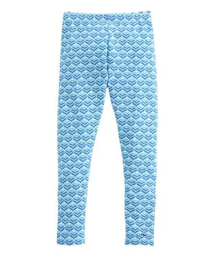 GIRLS DIAMOND WHALE TAIL LEGGING CAICOS