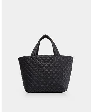 SMALL METRO TOTE BLACK