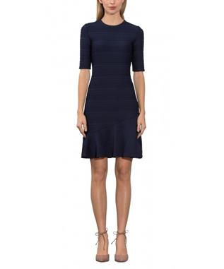ELMA DRESS NAVY