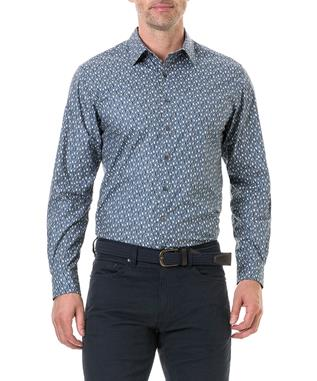 CHAPPEL WEST SPORT SHIRT BLUE GRAPHITE