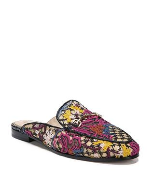 LINNIE FLORAL EMBROIDERED MULE BRIGHT MULTI FLORAL