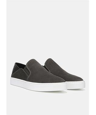 GARVEY SLIP ON SNEAKER  PEWTER