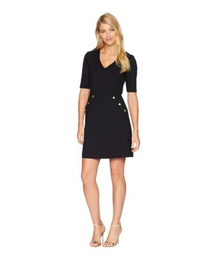 VALENTINA DRESS BLACK
