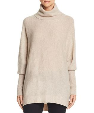 AYDIN TURTLENECK SWEATER HEATHER OATMEAL