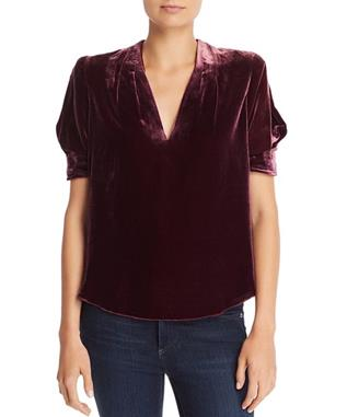 ANCE VELVET TOP BLACKBERRY
