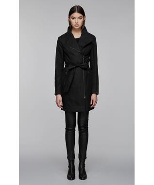 ESTELA TRENCH COAT  BLACK