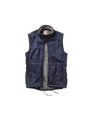 VERTICAL WINDPROOF VEST 410 NAVY