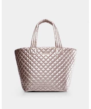 MEDIUM METRO TOTE ROSE GOLD