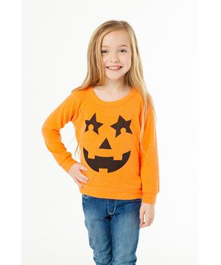 PUMPKIN FACE SWEATSHIRT BLAZE
