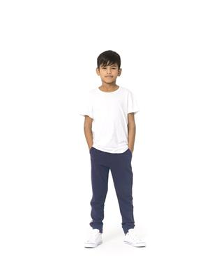 KIDS LUCAS STRIPE JOGGER NAVY