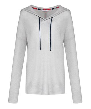 RELAXED CASHMERE HOODIE LHG