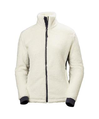 WOMENS PRECIOUS FLEECE JACKET OFFWHITE