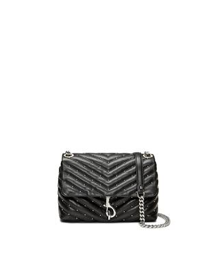 EDIE MICRO STUD CROSSBODY BLACK