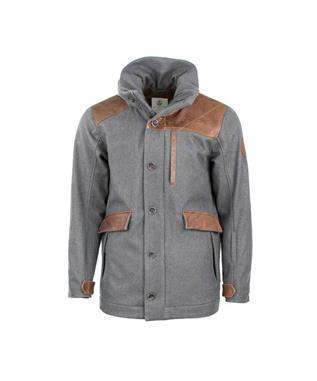 ALPINE OUTRIG JACKET HTHR GREY/COFFEE