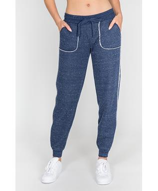 WINTER ESCAPE BANDED PANT NAVY