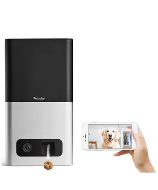 PETCUBE BITES PET CAMERA WITH TREAT DISPENSER  BLK