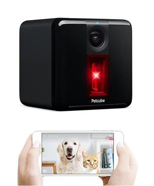 PETCUBE PLAY SMART PET CAMERA WITH INTERACTIVE LASER BLK