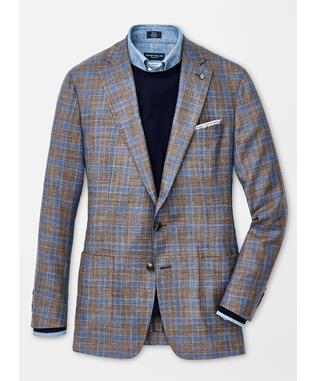 COLLECTION KRUGER PLAID SOFT JACKET TARTUFO