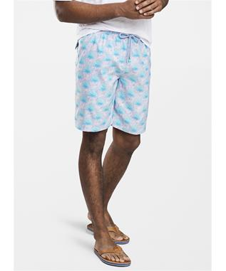 SEASIDE AGAVE SWIM TRUNK PALMER PINK