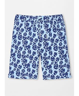 SEASIDE SANDDOLLARS SWIM TRUNK ATLANTIC B