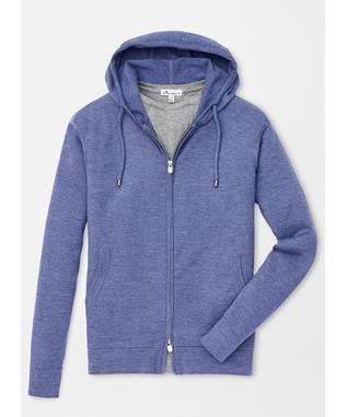 CRUISE CROWN COMFORT HOODIE BLUE COAST
