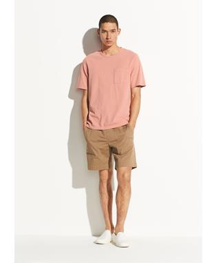 GARMENT DYE SINGLE POCKET SHORT SLEEVE CREW DUSK